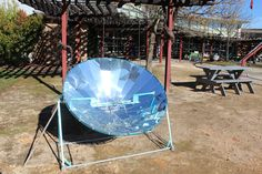 Teach kids about eco-measures at CA's Solar Living Institute. Great pit stop during a road trip!