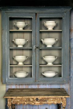 love the colors & patina | www.heurebleueantiques.com