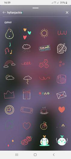 Instagram Emoji, Iphone Instagram, Instagram And Snapchat, Creative Instagram Stories, Instagram Story Ideas, Ig Story, Insta Story, Instagram Photo Editing, Snapchat Stickers