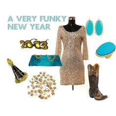 """""""A Very Funky New Year"""" by westernglamour on Polyvore"""