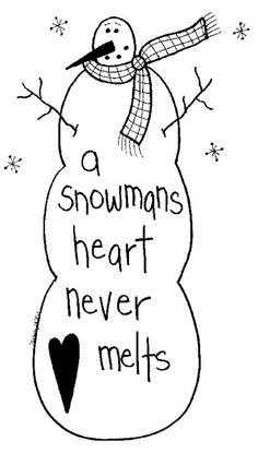 Free Primitive Patterns snowmen | Free Goods - Free Patterns - Snowmen and Winter - Free Winter Snowmen ...