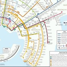 New NYC Subway Map Elegantly Inspired By Concentric Circles