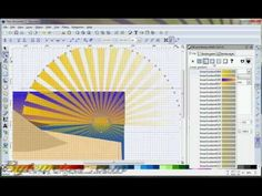 Byteweiser Inkscape Tutorial Sunrays and Clouds Vector Design, Web Design, Inkscape Tutorials, Vector Graphics, Projects To Try, Cricut, Arts And Crafts, Scrapbooking, Hacks