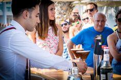 Tuvimos la oportunidad de probar de la mano de los mejores cocteleros de Europa sus creaciones de la mano de Elit en Ibiza. Todos quedamos impresionados.