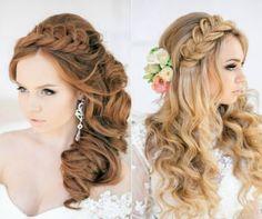 penteados para debutantes com tranças                                                                                                                                                                                 Mais