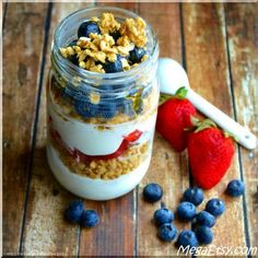 A simple and healthy parfait you can whip up in no time (or make ahead)!