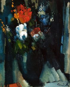 Maurice de Vlaminck - Bunch of Flowers 1909