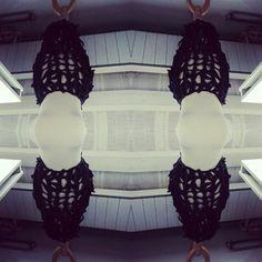 Mirror Knitted skirt