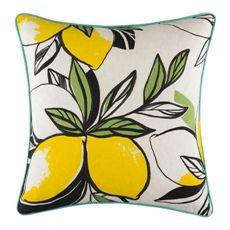 Lemon Delicious Cushion 50x50cm | Freedom Furniture and Homewares