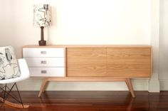C180 Sideboard - Classic sideboard. Oak Entertainmnet unit Vintage Industrial Art Cabinet. Buffet wood Danish Retro, Mid century teak unit. on Etsy, $2,138.48
