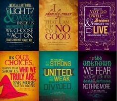 HP Quotes for the classroom. Yeah, I'm going to be THAT teacher...