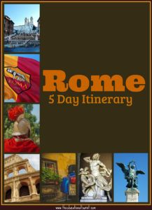 Rome 5 day itinerary