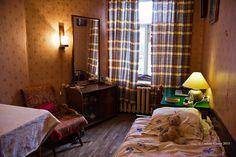 my bedroom in St. Petersburg.