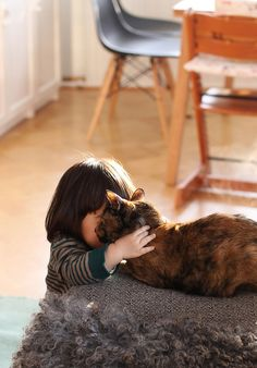 Every home with a child should have a cat for it to love!