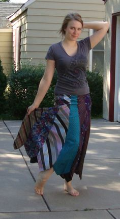 tie skirt, diy upcycle recycle; I have always wanted to do this