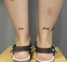 22 Tattoos For Those Who Hit Rock Bottom And Fought Back - Design Word Tattoos, Mini Tattoos, Leg Tattoos, Body Art Tattoos, Tatoos, 22 Tattoo, Tattoo Bein, Piercing Tattoo, Small Girly Tattoos