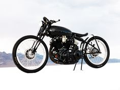 JEFF DECKER'S 1952 VINCENT BLACK LIGHTNING