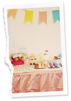 Charlie & Lola party. LOVE the banner!