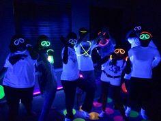 glow in the dark Birthday Party Ideas   Photo 1 of 6