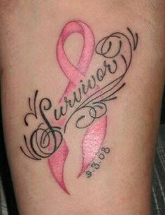 25 Best Tattoos Images Cancer Ribbon Tattoos Pink Ribbon Tattoos