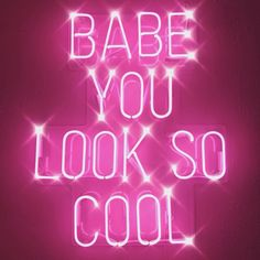 "👨‍🦱 ""Babe you look so cool!❤️"" 👩‍🦰 ""Yeah~ I know 🤪"" Happy Friday! Bedroom Wall Collage, Photo Wall Collage, Picture Wall, Murs Violets, Murs Roses, Pink Tumblr Aesthetic, Purple Aesthetic, Neon Quotes, Pink Quotes"