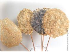 Babettes gæstebud.: Parmesan cheese lollipops