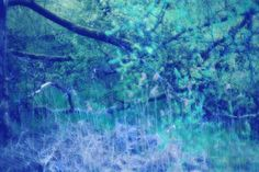 blue semi-abstract Abstract, Photography, Blue, Art, Summary, Art Background, Photograph, Fotografie, Kunst