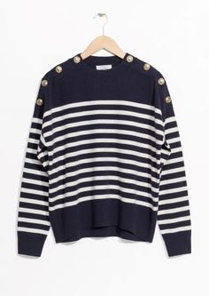 & Other Stories | Stripe Knit Sweater