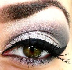 6. Gray - 7 #Makeup #Colors for Hazel Eyes ... → Makeup #Different