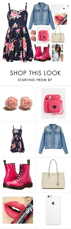 """OOTD January 25 2016"" by chooseyourstyle321 on Polyvore featuring Ally Fashion, Dr. Martens, MICHAEL Michael Kors, Fiebiger, women's clothing, women's fashion, women, female, woman and misses"
