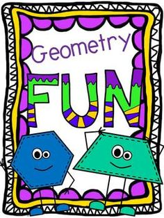 Geometry can be so much fun!  I can't wait to use these games with my kiddos.