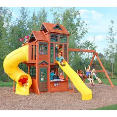 Cedar Summit Canyon Ridge Playset - Do It Yourself
