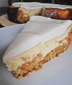 CHERi's Delicious Delectable Divine Recipes: Carrot Cheesecake from Cheesecake…
