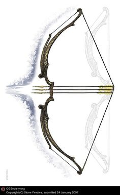 Elven Longbow by Stone Perales | 2D | CGSociety