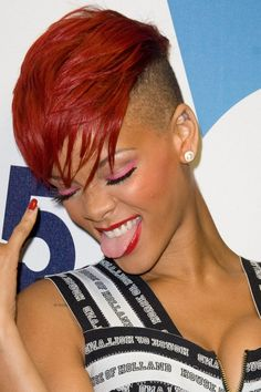 We look back at Rihanna's ever-evolving hair looks, ranging from scarlet crops to peroxide waves
