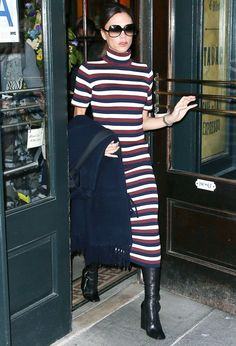 The Trick Victoria Beckham Uses to Look Taller Isn't What You Think via @WhoWhatWearUK