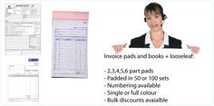 cheap NCR INVOICE BOOKS PADS