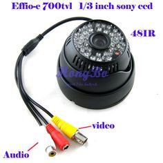 """$23.99 (Buy here: https://alitems.com/g/1e8d114494ebda23ff8b16525dc3e8/?i=5&ulp=https%3A%2F%2Fwww.aliexpress.com%2Fitem%2FCCTV-camera-48-IR-Effio-e700tvl-1-3-sony-ccd-Day-Night-Video-camera-with-Audio%2F781685376.html ) CCTV camera  48 IR  Effio-e700tvl  1/3""""sony  ccd   Day /Night Video camera  with Audio for just $23.99"""