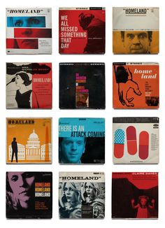 Homeland Jazz Record Covers