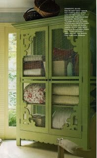 Shelter: Painted Armoire Inspiration