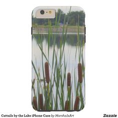 Cattails by the Lake iPhone Case Tough iPhone 6 Plus Case
