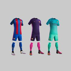 Which one is your favourite? Hit the LINK IN BIO to find the best deals on @fcbarcelona's 16/17 kits! . . . #footydotcom #fcfc #footy #footballboot #soccercleats #football #soccer #futbol #cleatstagram #totalsoccerofficial #fussball #bestoffootball #rldesignz #nike #nikefootball #nikesoccer #barcelona #fcbarcelona #fcbarca #fcbworld #footballshirts #catalan #spain #europe #europeanfootball #ucl #championsleague #design #aesthetics #noucamp