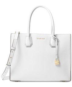 f010ca5a23191e Michael Kors Mercer Pebble Leather Tote & Reviews - Handbags & Accessories  - Macy's