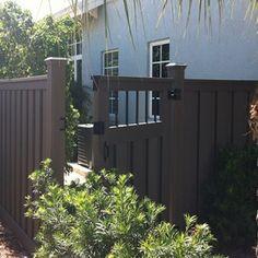 Trex fence & gate