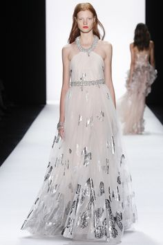 These 44 dresses from fashion week are all you'll need for your wedding inspiration: Badgley Mischka