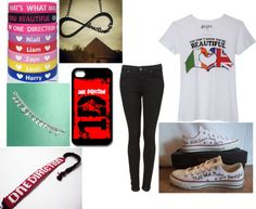 """""""One Direction Infection"""" by lunalovegood-383 ❤ liked on Polyvore"""