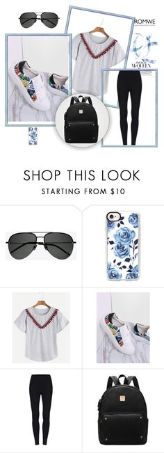 """""""Romwe 94"""" by zerina913 ❤ liked on Polyvore featuring Yves Saint Laurent, Casetify and romwe"""