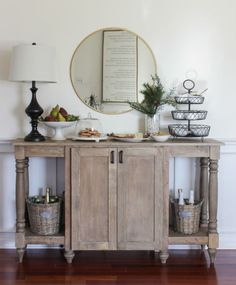 DIY Modern Farmhouse Buffet