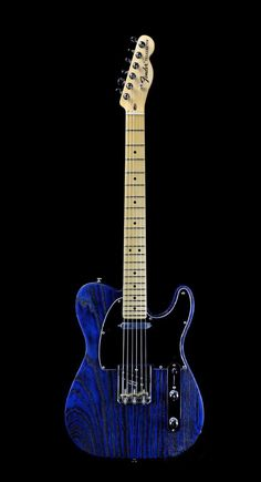 FENDER USA LIMITED EDITION TELECASTER Sandblasted Sapphire Blue Transparent