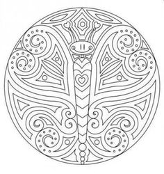 Free Mandala Coloring Pages for Preschool - Symbol Coloring Pages ...